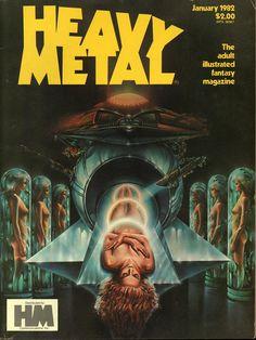 Heavy Metal January 1982 - EphemeraForever.com