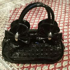 """Cute small """"go out"""" bag. Plenty of pockets and space in this pretty little bag.leatherette.  Perfect for a night out! Used a few times. Great condition. Bags Mini Bags"""