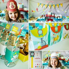 """When I Grow Up"" Party Gender Neutral Kids Birthday Idea}"