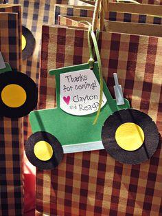 "Photo 5 of 13: Barnyard/Farm / Birthday ""Barnyard Birthday Dessert Table"" | Catch My Party"