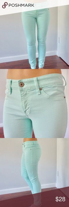 Dakota Collective Mint jeans Never been worn (until now) - never been tailored BB Dakota Jeans Skinny