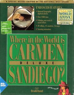 Playing Where in the World is Carmen Sandiego? during computer lab time: 38 Things You Did In Elementary School That You've Completely Forgotten About Carmen Sandiego, Learning To Write, Learning Spaces, 90s Nostalgia, The Villain, Learn To Read, New Music, Childhood Memories, Sweet Memories