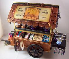 Gypsy cart - oh what fun could be had making a fortune teller cart