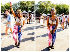 Flashing back on a Monday fun day! Me celebrating at ‪#‎Afropunk‬2014 #Afropunk, second day. Brilliant photos by my sweet sugar baby Niq Lewis! ‪#‎cowryshell‬ ‪#‎starsandstripes‬ http://girlrillavintage.me/2014/09/03/day-two-afropunk-2014-photos-by-niq-lewis/
