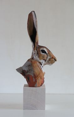 Ceramic Animal Sculpture - Nichola Theakston Ceramic Sculpture