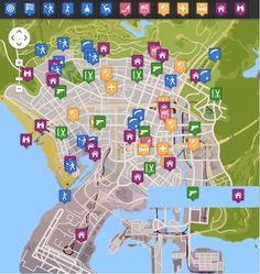 GTA V map [Interactive]