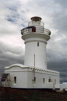 #Lighthouses of #Australia Inc.  South Solitary Island, off Coffs Harbour, NSW.    http://dennisharper.lnf.com/   ..rh