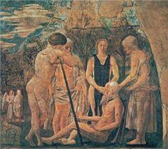 Death of Adam (detail) - Piero della Francesca