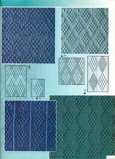 "Photo from album ""Verena № 2 2002 Спец выпуск УЗОРЫ"" on Yandex. Knitting Paterns, Knitting Charts, Loom Knitting, Knitting Designs, Knit Patterns, Knitting Projects, Crochet Stitches, Hand Knitting, Stitch Patterns"