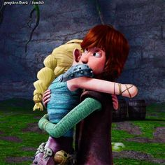 """""""Hiccup!"""" """"A-Astrid! How are the others?"""""""