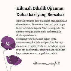 Islamic Inspirational Quotes, Islamic Quotes, Religion Quotes, Dear Self, Quran Quotes Love, Quotes Galau, Reminder Quotes, Marriage Life, Muslim Quotes