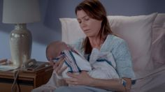 THE FEELS!   Meredith and Baby Ellis