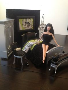 Check out this cute Barbie furniture my friend makes. Listed on ebay