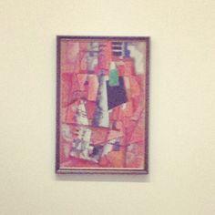 Malevich at Tate Modern London - Lady Behind Piano