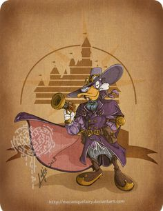 Disney steampunk: Darkwing Duck by *MecaniqueFairy on deviantART