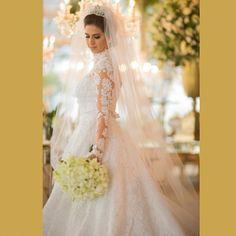 Vestido de Noiva Clássico by Atelier Fernando Peixoto
