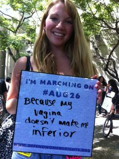 LOS ANGELES, SAN FRANCISCO, CHICAGO, & NEW YORK: We've been receiving some great photos for our Why I'm Marching on #Aug26 photo campaign! :D    Let's keep the momentum going about why it's so important to march to defend our rights - Like & share this photo and submit your own here! http://www.defendwomensrights.org/why-im-marching/submit-your-photo.html