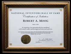 An Inside Look: The National Inventors Hall of Fame Induction Ceremony - The Bob Moog Foundation Moog Synthesizer, Doctor Robert, Science Art, Electronic Music, Foundation, Bob, Inventors, Innovation, Culture