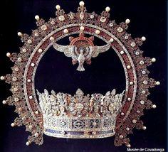 ouronne de la Vierge de Covadonga , par Mellerio