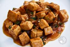 My husband had garlic pepper tofu at a Thai restaurant once and d the dish. Not having tasted it myself, I tried to search for a recipe on to recreate it at home, but failed to find one which had all the ingredients I wanted to add. Therefore, I decided to try and create the...Read More »