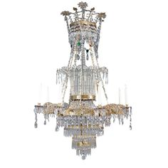 An Italian Neoclassical 8 Light Chandelier | From a unique collection of antique and modern chandeliers and pendants  at https://www.1stdibs.com/furniture/lighting/chandeliers-pendant-lights/ An Italian Neoclassical 8 Light Chandelier  Offered By Glen Dooley Antiques  Price Upon Request