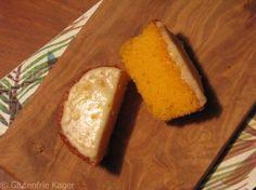 Gluten- og laktosefrie appelsin muffins