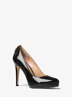 c1c8d23c04 Paula Smith · Antoinette Patent Leather Pump Platform Pumps, Heeled Boots,  Shoe Boots, Black Patent Leather