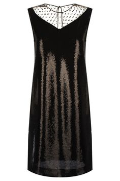 789a2ea1058 Платье с пайетками Emporio Armani Платье Черный на BABOCHKA.RU