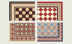 The possibilities are almost endless. Tile Paths - London Paving Company Patio and Paving Design and Installation London Patterned Floor Tiles, Tiles, Edwardian Hallway, House Tiles, Victorian Front Doors, Flooring, Hall Tiles, Victorian Tiles, Victorian