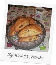 Sjokolade scones