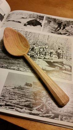Wooden spoon by Derek Sanderson