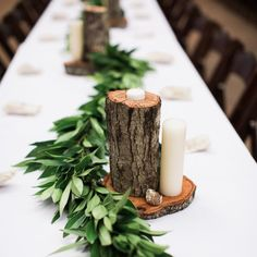 Easy DIY wedding table centerpieces and favors for a beautiful rustic modern wedding.