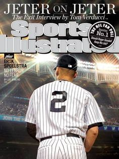 Sports Illustrated Derek Jeter Cover 2014