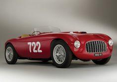 Classic Car: 1948 Ferrari 166 Inter Spyder Corsa | Inspiration Grid | Design Inspiration