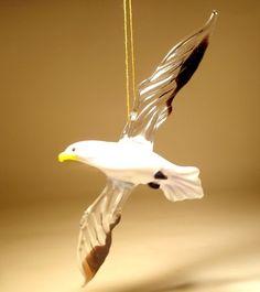 Glass Seagull Albatr