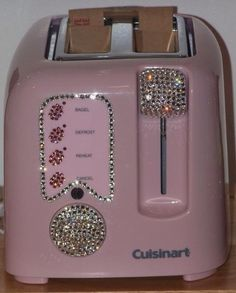 Oh my - a bling toaster! www.chataromano.com