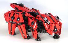Lego Technic Hexapod Mech