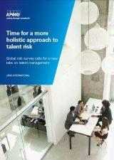 my KPMG talent risk project
