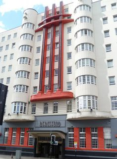 Art Deco building on Sauchiehall Street in Glasgow