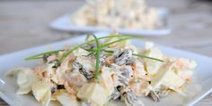 Koolsalade met appel, noten en rozijnen-Voedzaam & Snel
