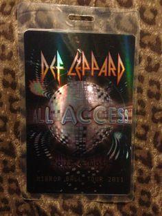 Def Leppard Mirror Ball Tour 2011