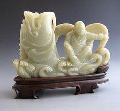Chinese Jade Fish Carving