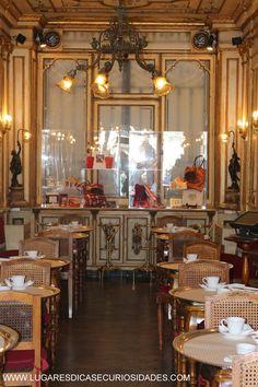 Interior do Café Florian - Veneza