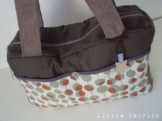 """tuto sac à langer par """"Little Fabrics"""""""