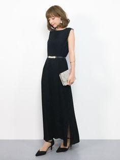 1df60efb0845c ayumi (ZOZOTOWN)|Luxe brilleのドレスを使ったコーディネート