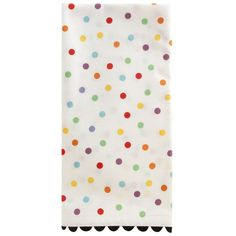Polka Dot Napkin (13 CAD) ❤ liked on Polyvore featuring home, kitchen & dining, table linens, cloth napkins, polka dot cloth napkins, cloth table napkins, polka dot napkins and polka dot table linens