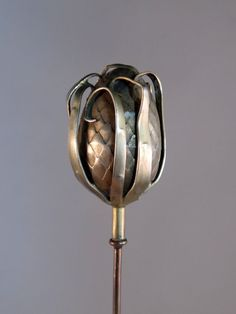 French Sterling Silver Hat Pin 1900s