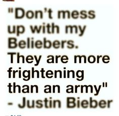 I AM A SERIOUS BELIEBER!!!
