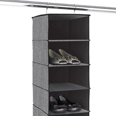 The Container Store > Milano 10-Compartment Hanging Shoe Bag