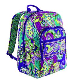 Vera Bradley campus backpack im getting this on sat bit in a different pattesrn